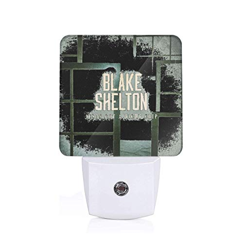 Blake Shelton Beautiful Environmentally Friendly Abs Material Led Sensor Night Light
