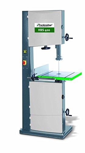 Holzkraft - Sierra de cinta para madera HBS 400 – Altura corte 305 mm – Tamaño de la tabla...