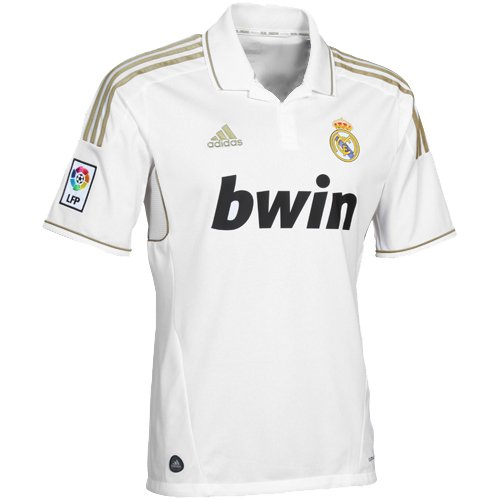Camiseta de fútbol Real Madrid, Hombre, V13659, Blanco, L