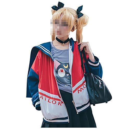 JOJO STYLE Carnaval De Halloween Cosplay Disfraz Sailor Moon Adulto Disfraz De Halloween Adecuado para Hombres Y Mujeres- Tsukino Usagi,S