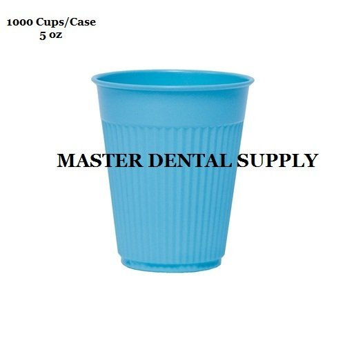 1000 Disposable Drinking Rinse Cups BLUE 5 oz Dental Medical Tattoo Spa