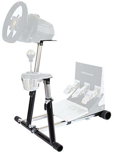 Wheel Stand Pro SuperTX Deluxe Wheel Stand w/ RGS & GTS. Compatible With Thrustmaster T300RS, TX Leather, T150/T150 Pro/TMX/TMX Pro, GT, TX458, TS-W, TS-PC & T500RS. V2. Wheel & Pedals Not included