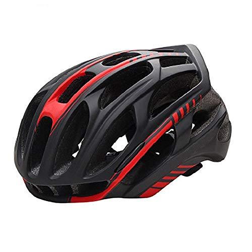 SFBBBO Bike Helmet Mountain Bike Helmet Man Ultralight Cycling Helmet with Led Taillight Sport Safe Gear M B