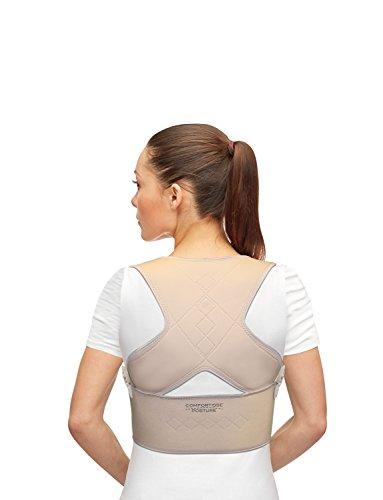 Mediashop Comfortisse Posture   Größe: S/M   2 Stück   Geradehalter zur Haltungskorrektur   Rückenstütze   Schultergurt   Haltungstrainer   bei Nacken-Rücken-Schulter-Schmerzen   Das Original