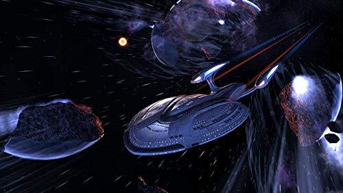 IUWAN 1000-teiliges Puzzle Erwachsene Stressabbau Kinder Intellektuelle Spiele Star Trek-Raumschiff-A Paperen Multi-Color Personalize38 * 26cm