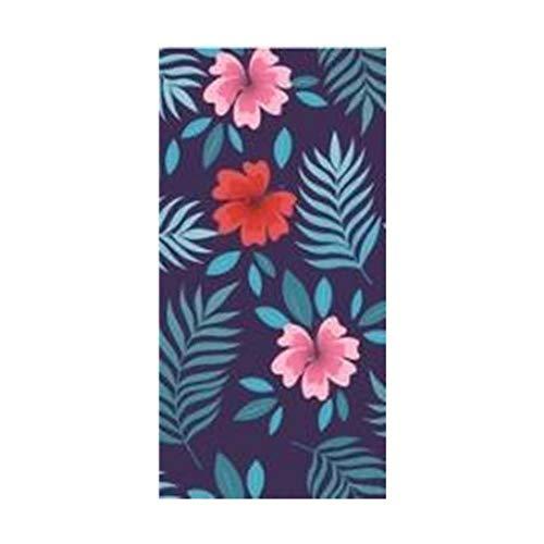 Gbcyp Tropische Zomer Bloemen Blad Strand Reizen Handdoek Moderne Bloem Hand Badhanddoeken voor Vrouwen Zwembad Handdoek, A, 35x75cm