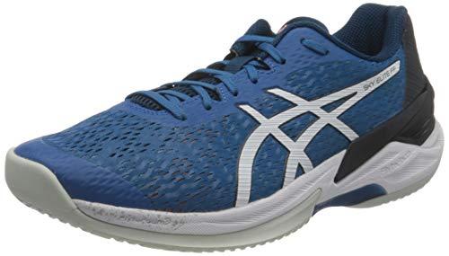 ASICS Herren 1051A031-404_43,5 Volleyball Shoes, Blue, 43.5 EU