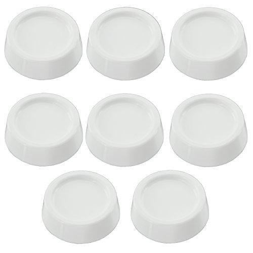 SPARES2GO Anti Vibratie Low Noise Rubberen Voeten Pads voor Siemens Tumble Droger/Wasmachine (Pack van 8)