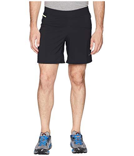 Brooks Men's Cascadia 7' 2-in-1 Short, Black, Medium