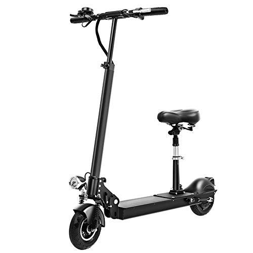 FUJGYLGL Adulto pequeño Scooter eléctrico, Plegable, fácil de Llevar, Cuerpo de aleación de Aluminio, Frenos de Disco de Frenos de Disco, un Mejor Efecto, Seguro y cómodo