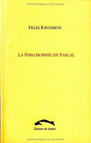 La Philosophie de Pascal