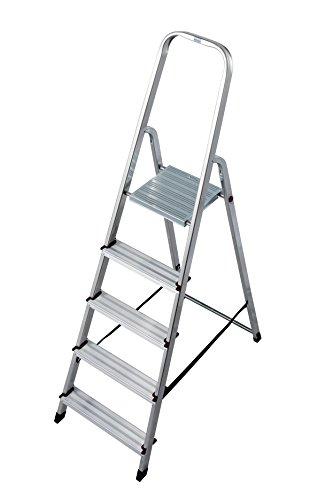 KRAUSE Corda Stehleiter, 5 Stufen, 000729