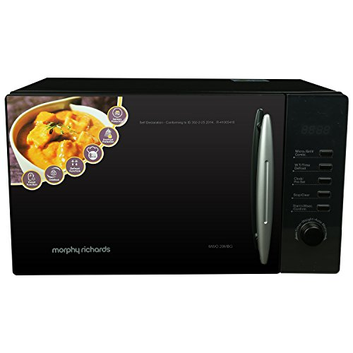 Morphy Richards 20MBG 20-Litre Grill Microwave (Black)