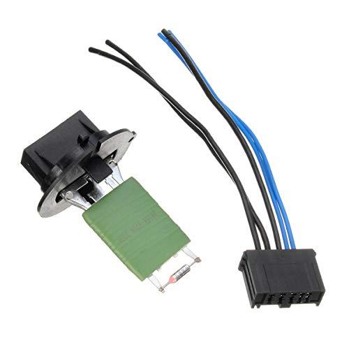 ZWwei Piezas de automóviles Conector eléctrico de Resistencia al Calentador y Telar de cableado para Peugeot 206 307 Herramientas y Equipos de automóviles