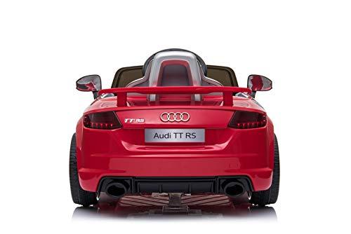 RC Auto kaufen Kinderauto Bild 3: Toyas Audi TTRS Cabrio Kinder Auto Kinder Elektroauto Kinderfahrzeug 12V Akku USB MP3 Rot*