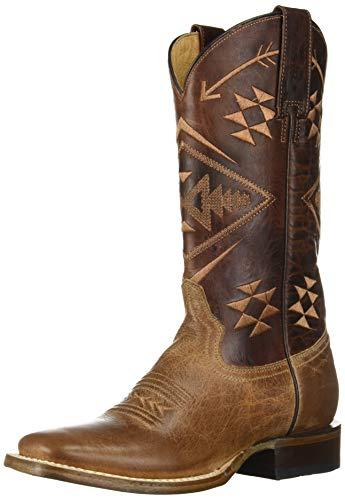 Roper Women's Ruby Western Boot, Brown, 8 Medium US