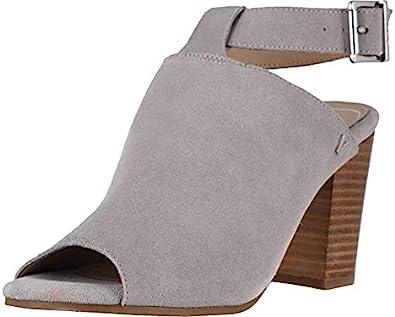 Wide 1351599 Vionic Womens Perk Kaia Light Grey Ankle Strap Heels Size 7.5