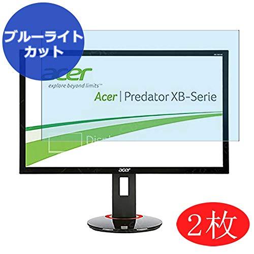 VacFun 2 Piezas Filtro Luz Azul Protector de Pantalla para Acer XB280HK bprz Predator XB280HKbprz 28