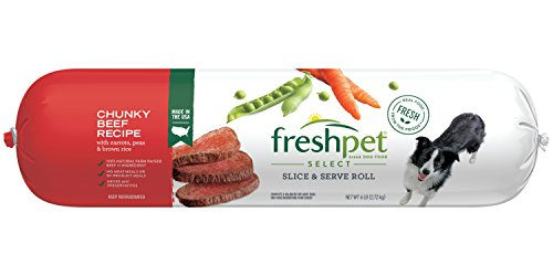 Freshpet Healthy & Natural Dog Food, Fresh Beef...
