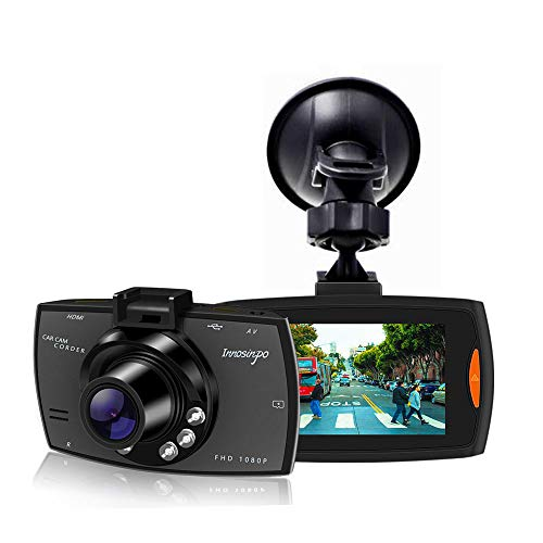 Upgraded Dash Cam 1080P FHD Dashcam for Car Dashboard Camera Recorder with High Sensitive G-sensor,6 IR LED Night Vision,Loop Recording,Motion Detection,Parking Monitor