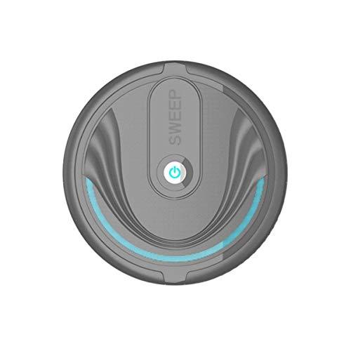 healthwen Robot de Limpieza automática Robot de Barrido Inteligente Aspiradora de Polvo de Suciedad de Suelo Barredora de Limpieza automática de Suelos