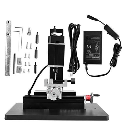 %20 OFF! 60W 12000RPM Mini Metal Lathe DIY Milling Machine Miller for Lignin plastic, soft metal (go...