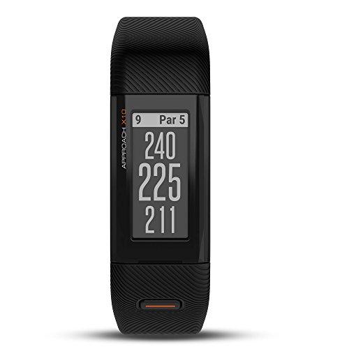 Garmin Approach X10, Lightweight GPS Golf Band, Black, Large