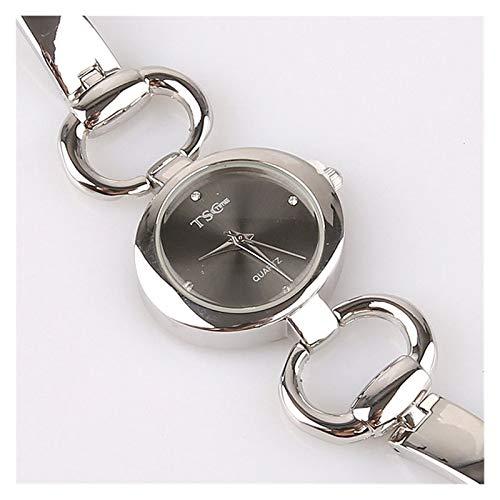 Chenhan Moda Mujeres Oficina Damas Rose Oro Acero Inoxidable Lujo Reloj de...