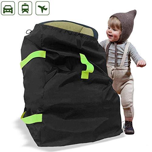 Kindersitz Reisetasche Robuste Buggy Tasche Autokindersitz Transporttasche mit Schulterrieme Flugzeug Schutzhülle für Kinderwagen, Rollstühle, Autokindersitze, Wasserabweisend Staubdicht