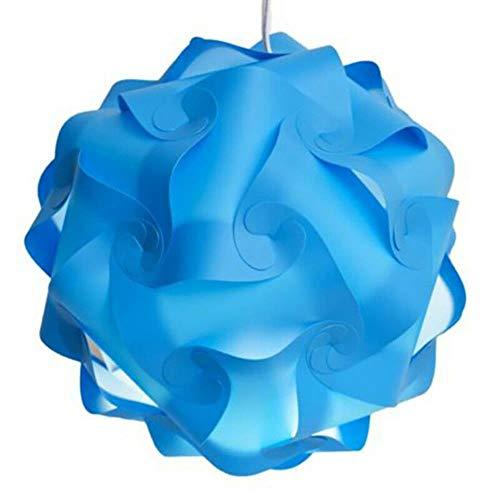 WXG Puzzle pantalla moderna lámpara de techo candelabro decoración del hogar