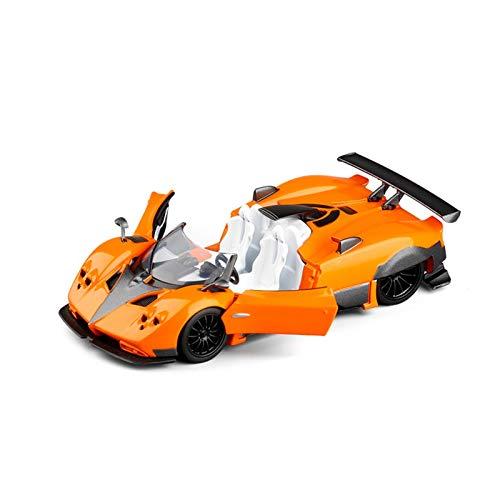 Modellini in Scala 1/36 per Pagani per Zonda Modello Pressofuso Auto da Corsa Modello di Auto in Scala Giocattoli Auto Tirare Indietro per Ragazzi Ragazze Collezione di Regali (Color : 2)
