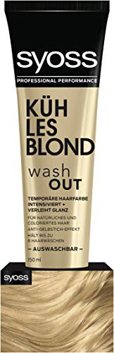 Syoss Wash Out Kühles Blond Stufe 0, 2er Pack (2 x 150 ml)
