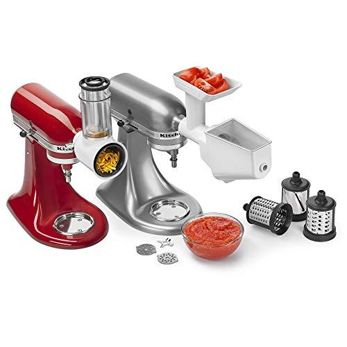 KitchenAid KSMFPPA Mixer Attachment Pack, White