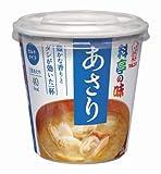 マルコメ カップ 料亭の味 あさり 即席味噌汁 1食×6個