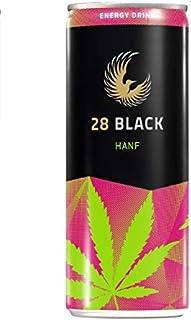 28 Black Hanf Energy Drink 24 x 0,25 ltr. mit 6€ DPG EINWEG Pfand