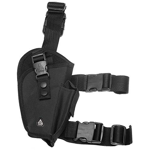 UTG Elite Tactical Leg Holster,Black (Right Handed)