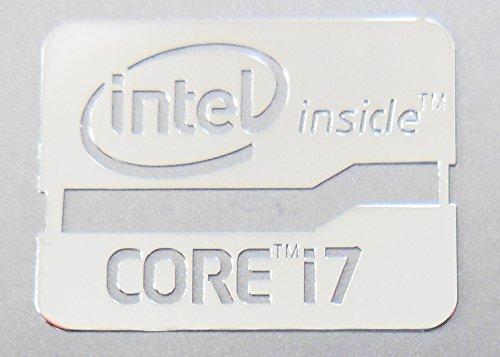 Intel Core i7 Inside Metal Sticker 16.5 x 21mm [647]