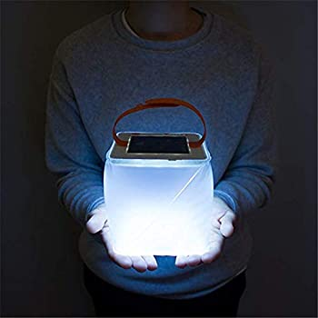 Star Supermarket Lanterne solaire gonflable de camping et d'urgence Lanterne solaire pliable télescopique éclairage airbag Lampe LED étanche pour activités extérieures