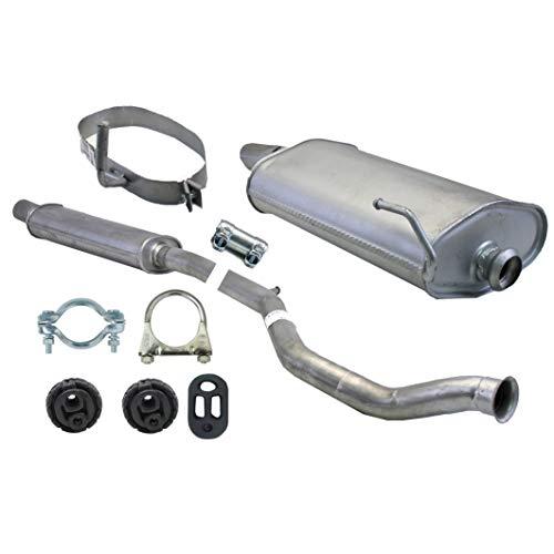 Ferroz Export Ersatz für Komplette Auspuffanlage ab Kat Peugeot 206 CC 2.0 1999-2007 Auspuff