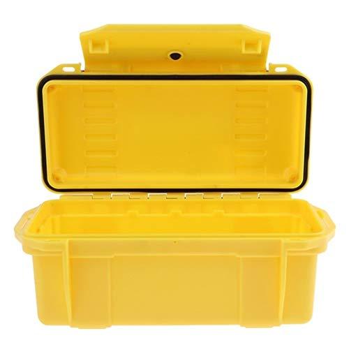 Generic Brands Sac à Dos Pique-Nique Hamper Boîte de Pique-Nique Portable étanche extérieur antichocs Boîte de Rangement étanche à l'air Boîte à Sec d'urgence for Camping Randonnée (Couleur : Yellow)