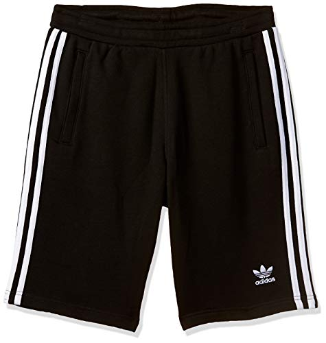 adidas Herren 3-Stripes Shorts, Black, XL