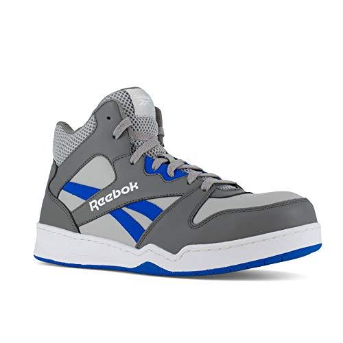 Reebok Work Men's BB4500 Safety Toe High Top Work Sneaker, Grey, 11.5 Wide