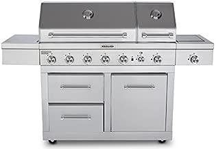 KitchenAid 720-0826E Propane Gas Grill, Stainless Steel