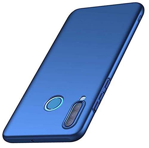 Urhause Huawei P30 lite Hülle, Huawei P30 lite Hart PC Hülle,[Ultra dünn][Anti-Kratzer] Silky Handyhülle Stoßfest Anti-Fingerabdruck Schutzhülle Rückschale Hardcase Protective Back Hülle,Blau