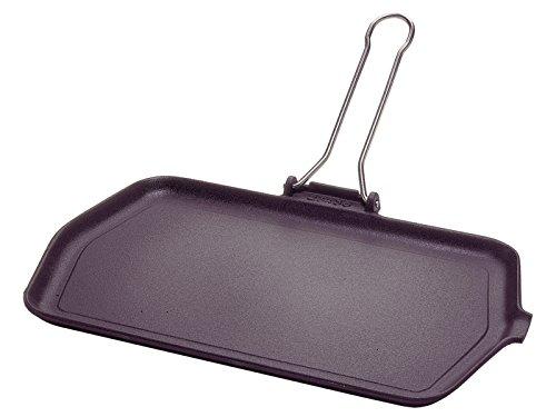 Ilsa 02040230GBS Piastra ghisa marinella 36x23 Pentole e Preparazione Cucina, Smaltata