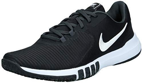 Nike Men's Flex Control TR4 Cross Trainer, Black/White-Dark Smoke Grey-Smoke Grey, 10 Regular US