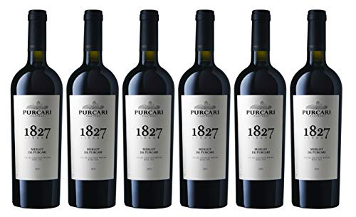 "Chateau Purcari | MERLOT DE PURCARI – Rotwein trocken aus Moldawien | Weinpaket 6 x 0.75 L + 1 Kugelschreiber ""Amigo Spirits"" gratis"