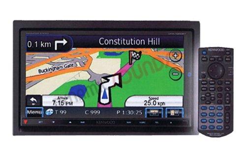 Kenwood DNX 7260 BT Moniceiver mit All-In-One Navigationssystem (17,7 cm / 7 Zoll Doppel-DIN Monitor, DVD Player, DivX-Zertifiziert, USB) schwarz