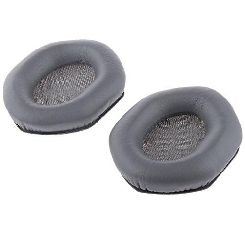 SDENSHI Paar Ersatzohrpolster Kissen Für V Moda M100 Lp / LP2 Kopfhörer Grau