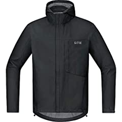 Versatile men's jacket for cool weather conditions Comfort Fit/bike-specific cut GORE-TEX Active Technology: Waterproof, windproof and extremely breathable Extended back, Adjustable waistband and sleeve width, Can be worn with a backpack, Breast pock...